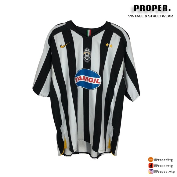 uk availability 6546a cc917 Juventus Jersey 2005/06 Kit Nike Size XL